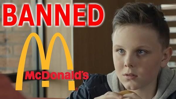 Banned McDonalds Dead Dad Advert - Bad Marketing