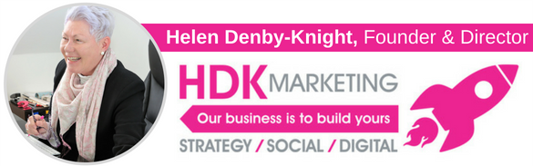Helen Denby-Knight - Director - HDK Marketing - Sutton Coldfield - Email Signature