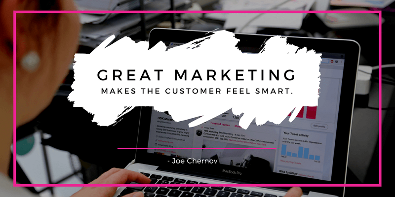 Motivational Quote about Great Marketing