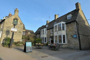 The Bell Pub Cotswolds Front